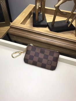 Louis Vuitton Damier Ebene Canvas KEY POUCH N62658