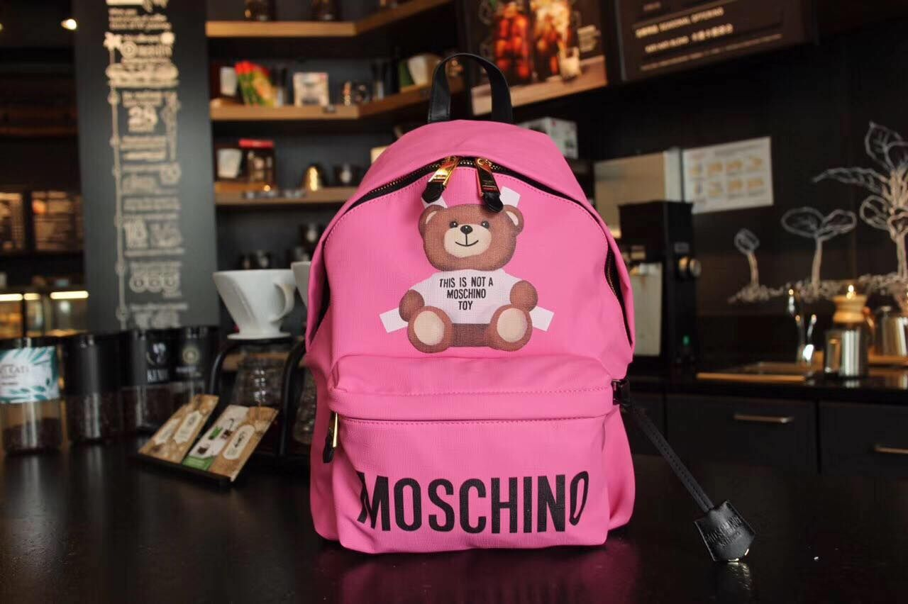 MOSCHINO Little Bear Backpack MO1781 Pink