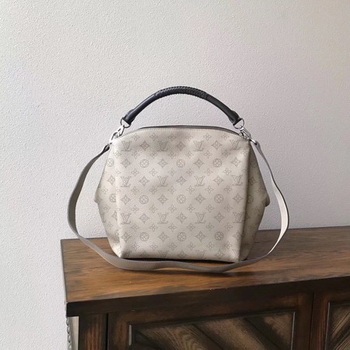 Louis Vuitton Mahina Leather BABYLONE PM M50032 OffWhite
