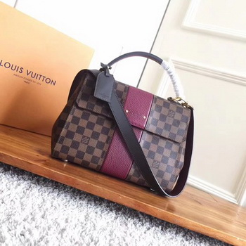 Louis Vuitton Damier Ebene Canvas BOND STREET N64416 Purple