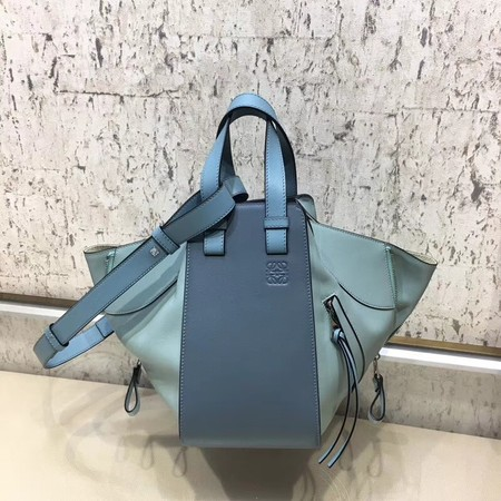 Loewe Hammock Small Bag Original Leather L9126 Blue