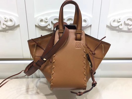 Loewe Hammock Small Bag Original Leather L9127 Brown