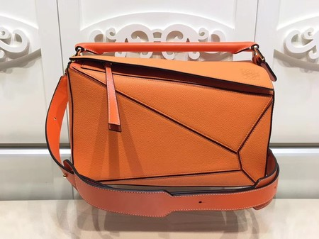 Loewe Puzzle Bag Original Leather L9122 Orange
