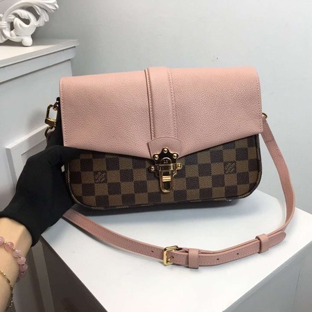 Louis Vuitton Damier Ebene Canvas WIGHT N44243 Pink