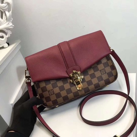 Louis Vuitton Damier Ebene Canvas WIGHT N44243 Wine