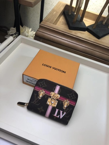Louis Vuitton Monogram Canvas Original leather ZIPPY Wallet M62617