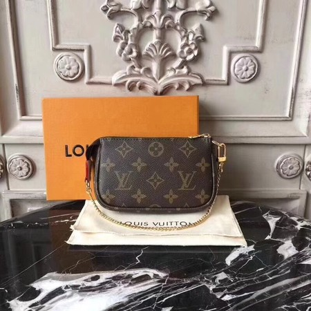 Louis Vuitton Monogram Canvas Original MINI POCHETTE ACCESSORIES N58010