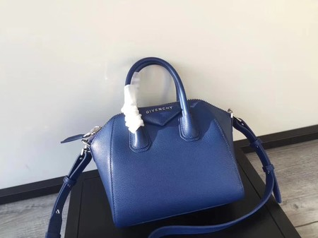 Givenchy Antigona Bag Original Calfskin Leather G9982 blue