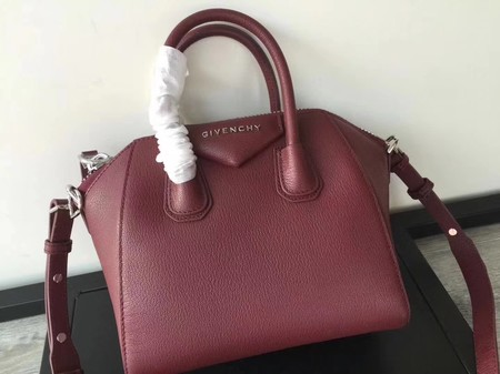 Givenchy Antigona Bag Calfskin Leather G9982 wine