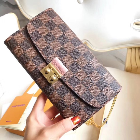 Louis Vuitton Original Damier Ebene Canvas CROISETTE N61276