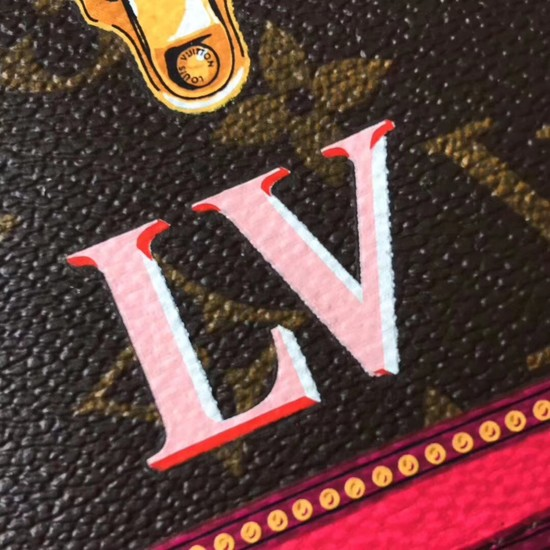 Louis Vuitton Pochette Weekend original Monogram Canvas M62456