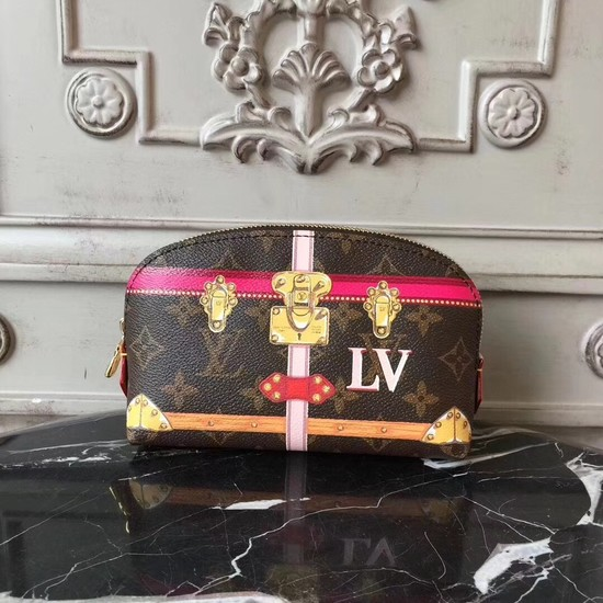 Louis Vuitton Monogram Pouch Pm Cosmetic Bag 43615