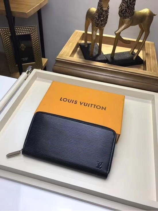Louis Vuitton EPI leather Zippy Wallet 67267 black