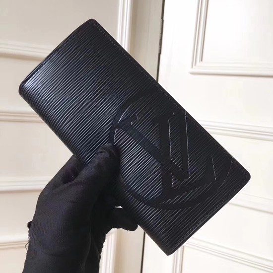 Louis Vuitton EPI leather Wallet 63511 black