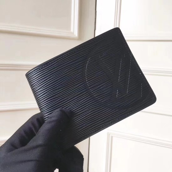 Louis Vuitton EPI leather Wallet 63514 black