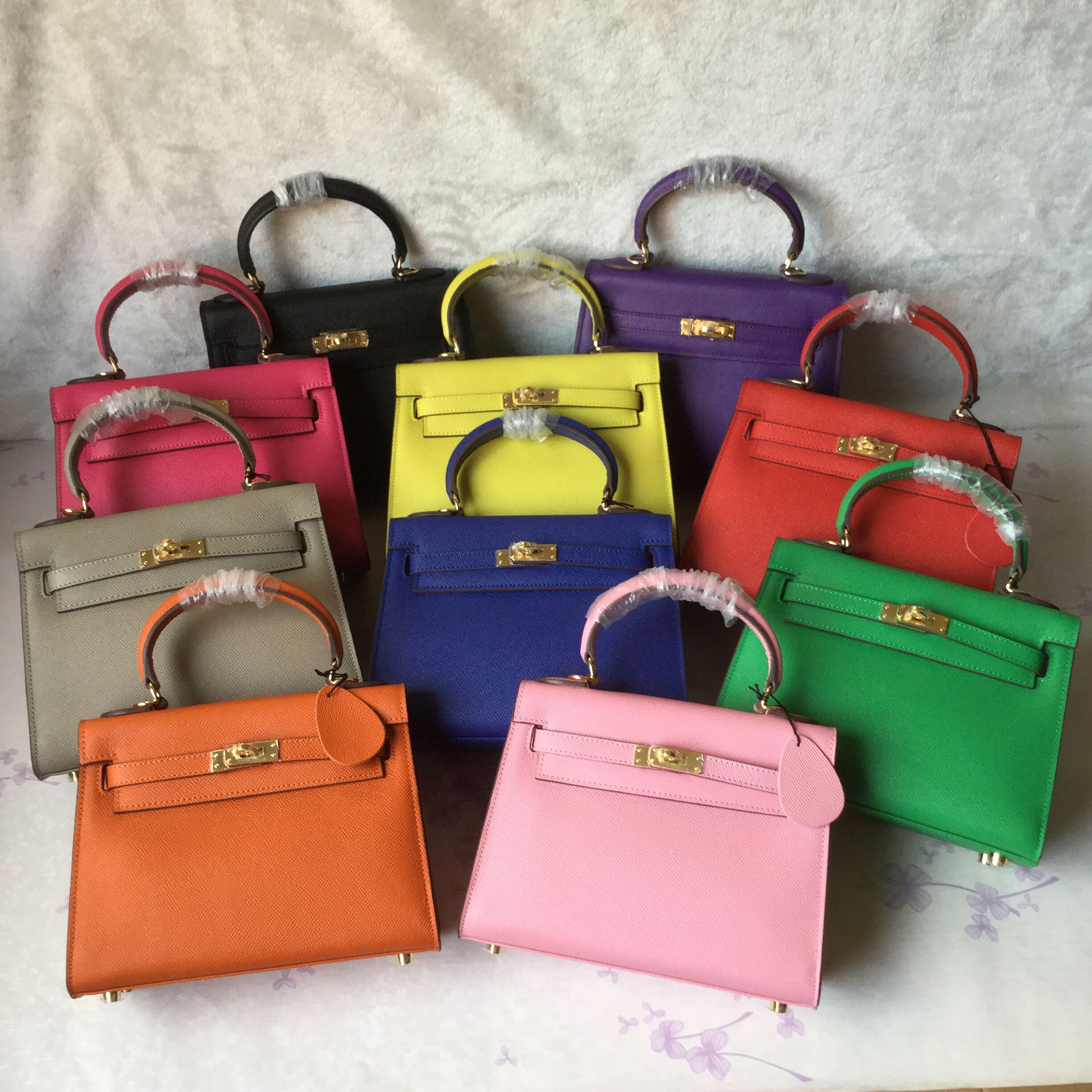 Hermes Kelly Tote Bag epsom Leather KL25