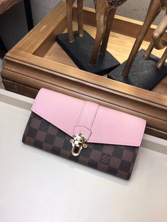 Louis Vuitton Damier Canvas CLAPTON WALLET N64448 Magnolia