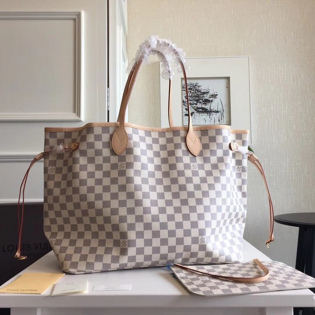 Louis Vuitton Damier Azur Original NEVERFULL GM N41360