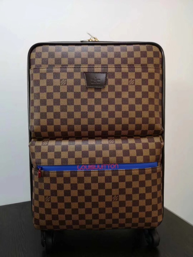 Louis Vuitton Damier Ebene Canvas Universal wheel Pegase 55 N41385