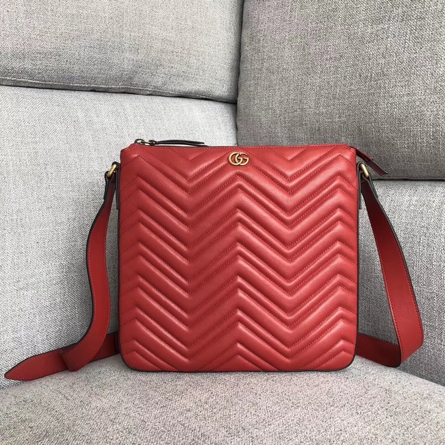 Gucci GG Marmont messenger bag 523369 red