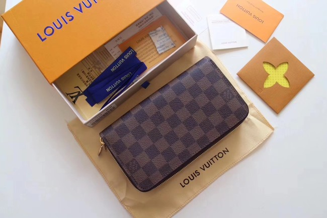 Louis Vuitton Damier Ebene Original ZIPPY ORGANIZER M61723