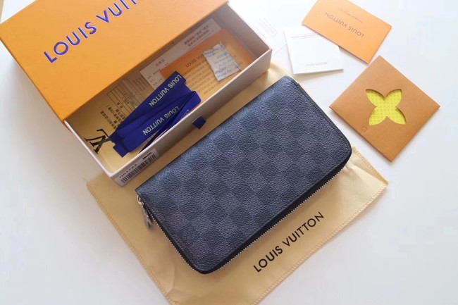 Louis Vuitton Damier Graphite Canvas Original ZIPPY ORGANIZER M61723