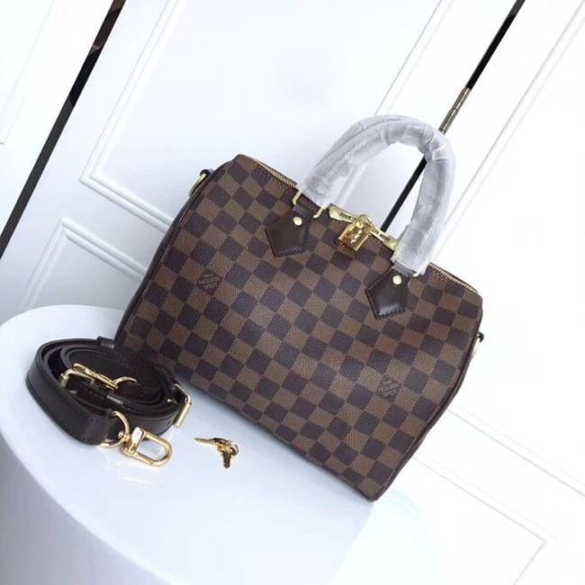 Louis Vuitton Original SPEEDY BANDOULIERE 25 N41368