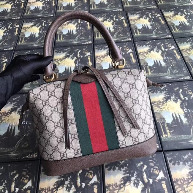 Gucci GG canvas top quality tote bag 523433 brown