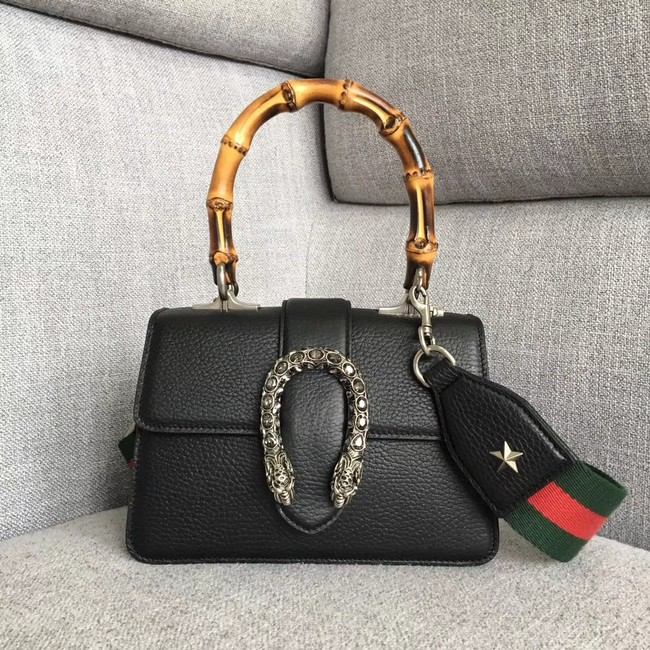 Gucci Dionysus small top handle bag 523367 black