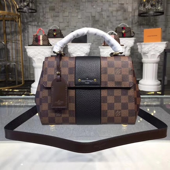 Louis Vuitton Original Damier Ebene Canvas BOND STREET BB M41071 black
