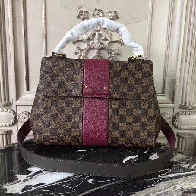 Louis Vuitton Original Damier Ebene Canvas BOND STREET M64416 Lie de Vin