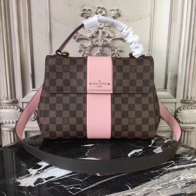 Louis Vuitton Original Damier Ebene Canvas BOND STREET M64416 pink