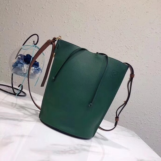 Loewe Crossbody Bags Original Leather 10188 green