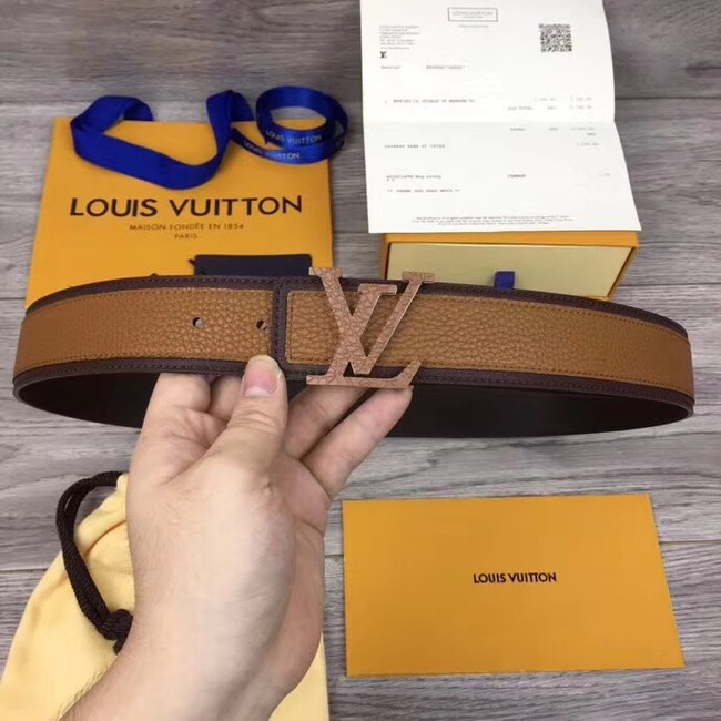 Louis Vuitton INITIALES 40MM BELT M0030 brown