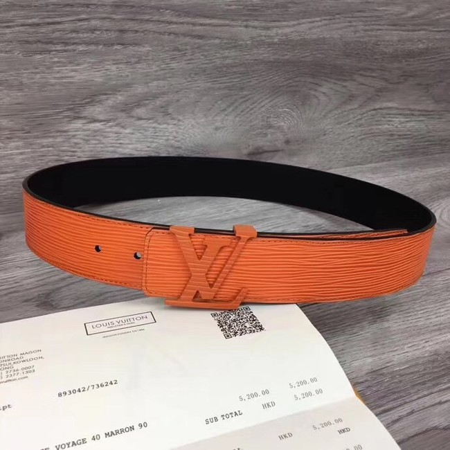 Louis Vuitton INITIALES 40MM BELT M0035S orange