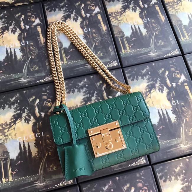 2da24a658e51 Gucci Padlock Gucci Signature Shoulder Bag 409487 Black - $259.00