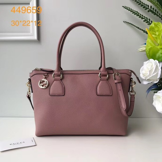 Gucci GG Classic Tote Bag 449659 pink