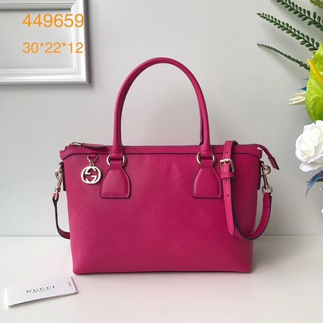 Gucci GG Classic Tote Bag 449659 rose