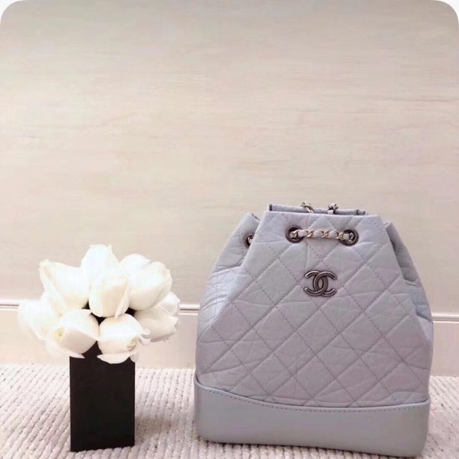 Chanel gabrielle backpack A94501 light blue