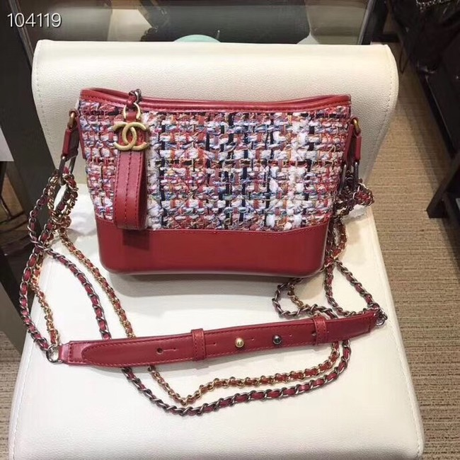 Chanel gabrielle small hobo bag A91810 red