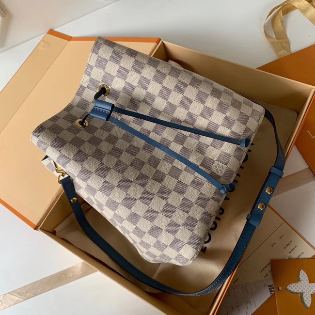 Louis vuitton original Damier Azur NEONOE N44022 blue