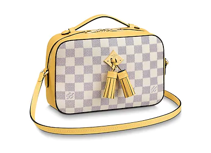 Louis vuitton original Damier Azur SAINTONGE N40154 Pineapple
