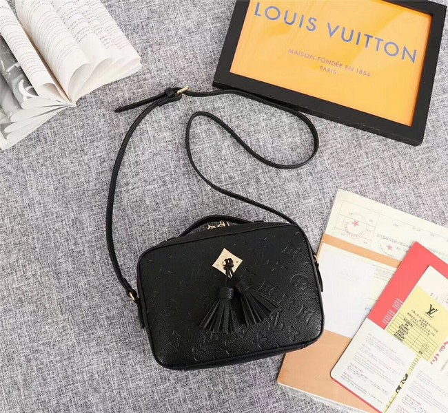 Louis vuitton mongram empreinte SAINTONGE M44593 black