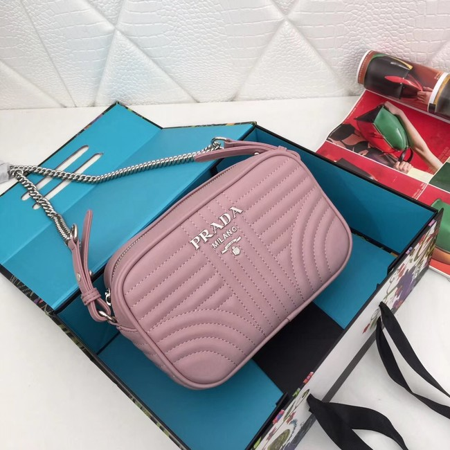 Prada Calf leather bag 183 pink