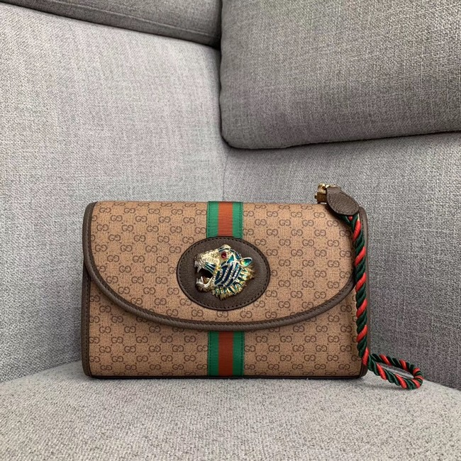 Gucci GG Marmont small shoulder bag 570145 brown