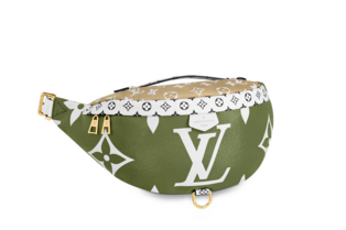 Louis vuitton original BUMBAG M44611 Khaki