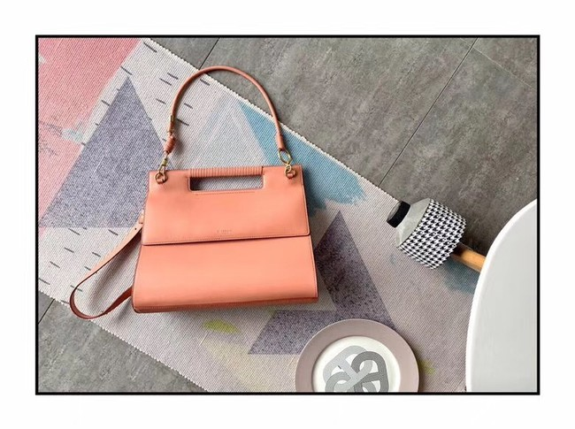 GIVENCHY Whip large leather shoulder bag 37101 pink