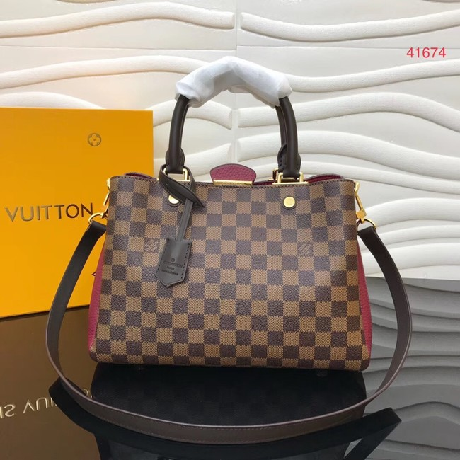 Louis Vuitton Original Damier Ebene Canvas M41674 Bordeaux