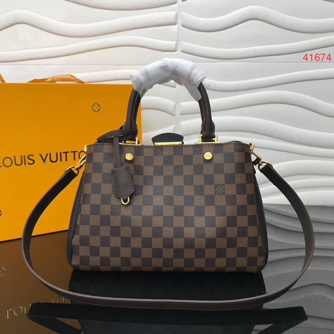 Louis Vuitton Original Damier Ebene Canvas M41674 black