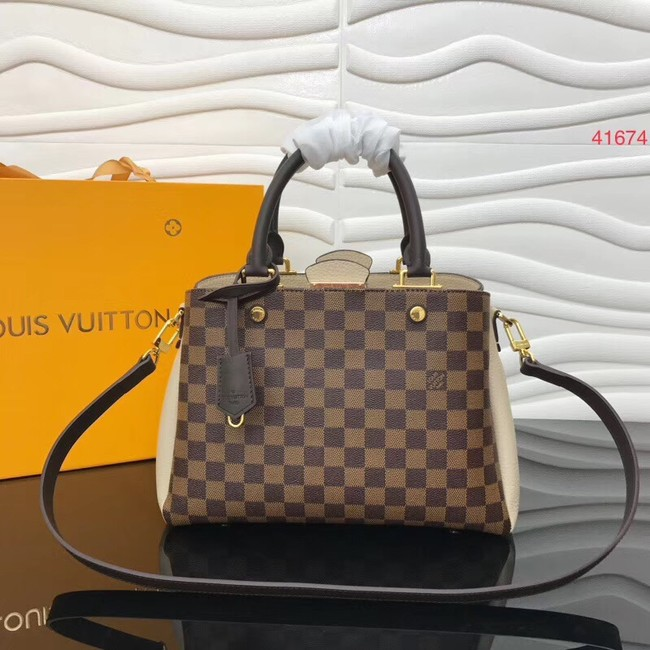 Louis Vuitton Original Damier Ebene Canvas M41674 cream